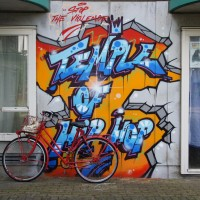 Graffiti on the Heesterveld Apartment complex near Bullewijk Metro Station
