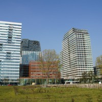 Buildings near Zuid Station