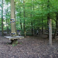 Kids obstacle course, Fun Forest