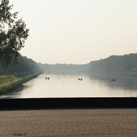 Bosbaan olympic rowing course