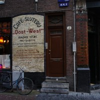 Cafe East-West, on the Nieuwemarkt