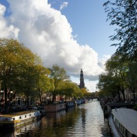 Westerkerk and the Prinsengracht