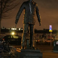 Statue honoring the garbage collectors of Amsterdam. 130 years of cleaning.