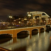 HDR long exposure shot of the Magerebrug.