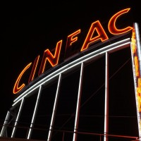 The once impressive Cineac, now a casino. sad.