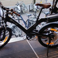 Electric cycle-cross bike. Cool, but I'm not sure €3250 worth of cool.