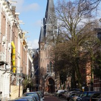 The Vondelkerk on the Vondelstraat.