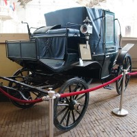 Royal horse carriage of Wilhelmina