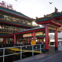 The Sea Palace - floating Chinese restaurant in the Amsterdam Harbour.
