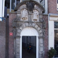 Entrance to a Hofje near Rembrandt's House.