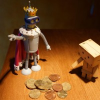 Super King Bender demands more cash from Danbo