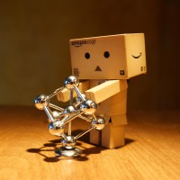 Danbo found an iron molecule. A really big one.