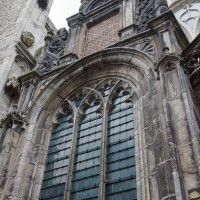 Detail of the Oudekerk, west side.