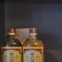 Japansch Zaky Shochu matured for 'a long time with love'
