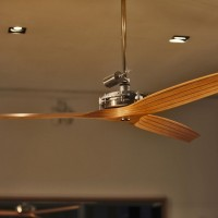 Beautiful ceiling fan in a designer furniture shop near Waterlooplein