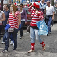 I found Waldo... there umm, she is.. oh, and there's a few more.