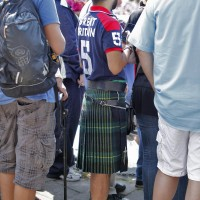 An english bloke in a kilt
