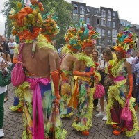 Las Frutas Prohibidas at Amsterdam Gay Pride Canal Festival and Parade 2012