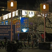 "Marie Stella Maris IDFA film festival is now in Rembrandtplein instead of the horrible ""Winter Wonderland"" of previous years"