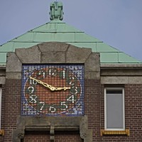 Clock tower on the Timorplein