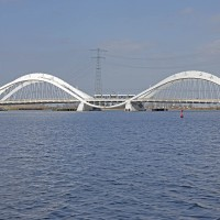 Enneus Heermabrug (Bra Bridge) to Ijburg